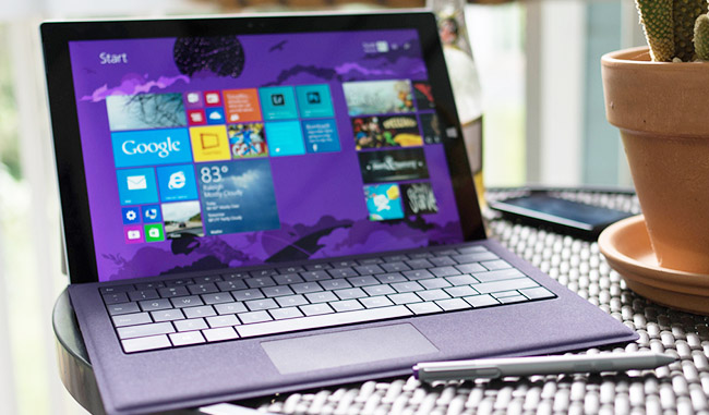 Win a Microsoft Surface 3