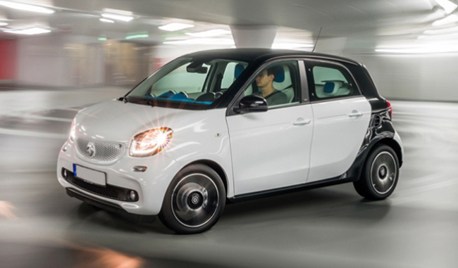 Win a top of the range Smart ForFour car
